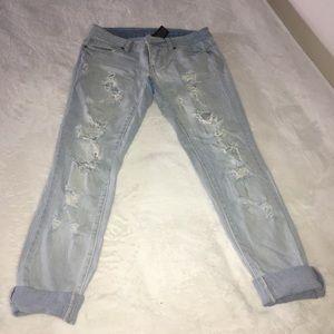 Mossimo Boyfriend Jeans Sz 2